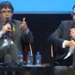 """Puigdemont rechaza que la unidad del Estado sea sagrada y critica que sea un """"tabú"""" discutirla"""