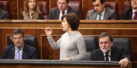 """Sobre los partidos independentistas: """"Da la sensación de que no tienen prisa por forma un gobierno"""" BARCELONA, 23 La vicepresidenta del Gobierno, Soraya Sáenz de Santamaría, ha afirmado este lunes […]"""