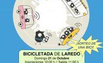LAREDO, 17 Laredo celebrará este domingo, 21 de octubre, su tradicional Bicicletada , que partirá a las 11.00 horas desde la Plaza de la Constitución de la villa. Por motivos […]