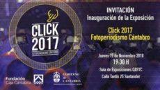 El Casyc de Santander inaugurará este jueves, 15 de noviembre, a las 19.30 horas, la cuarta edición del proyecto fotográfico Click en el que se mostrarán las mejores imágenes realizadas […]