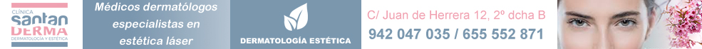 Santanderma, Calle Juan de Herrera 12. 942 047 035. Dermatología, Venereología, Láser y Medicina Estética