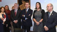 El presidente de la Xunta de Galicia, Alberto Núñez Feijóo, el presidente del Parlamento de Galicia, Miguel Santalices Vieira, y la alcaldesa de Santander, Gema Igual, han sido nombrados este […]